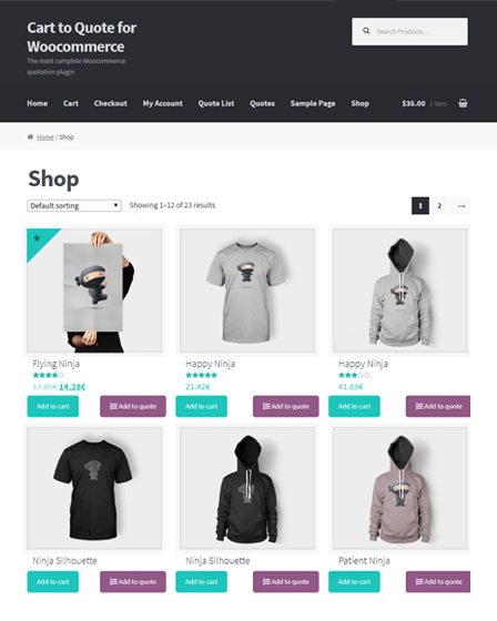 WooCommerce Plugin WP