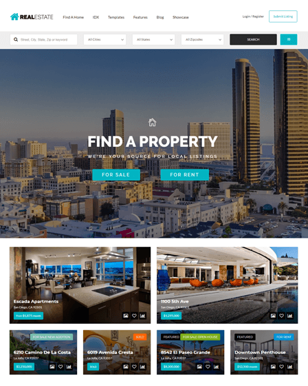 Real Estate WP Theme