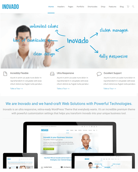 Customisable WordPress Theme