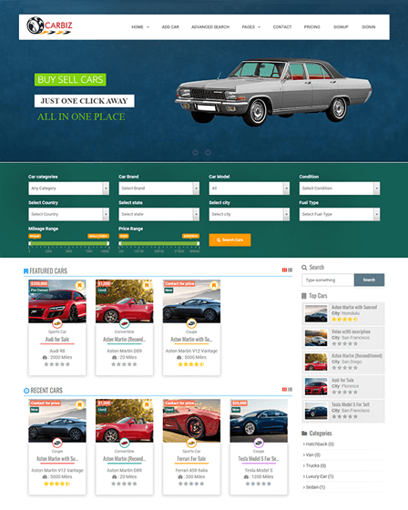 Car Marketplace Script