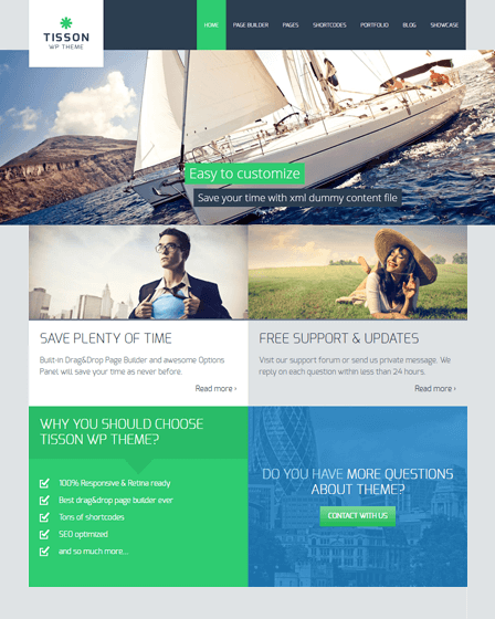 Responsive WordPress Business Theme