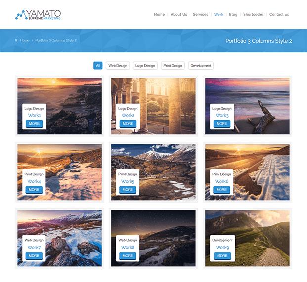 Portfolio - WordPress Marketing Theme