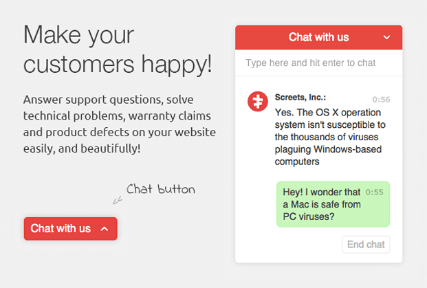 Chat With Us - Live Chat WordPress Plugin