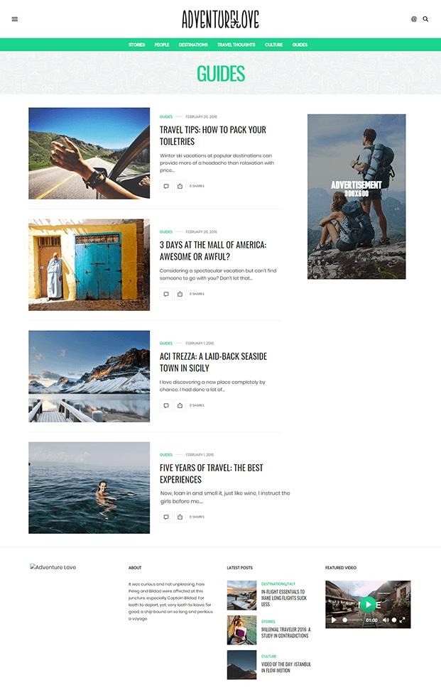 Guides - Best WordPress Magazine Theme