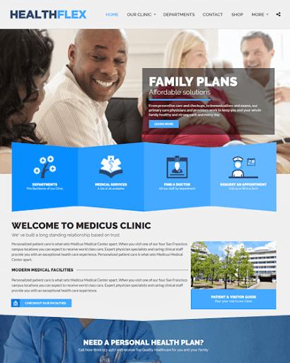 Health Medical Wordpress Theme