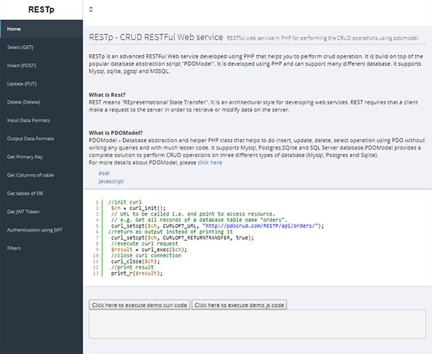 Home - PHP CRUD Generator
