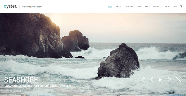 Home - Photo WordPress Theme