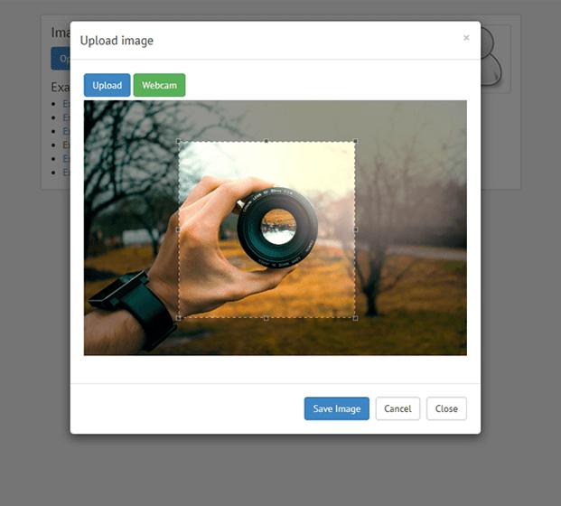 Image Crop - Image Upload PHP Script