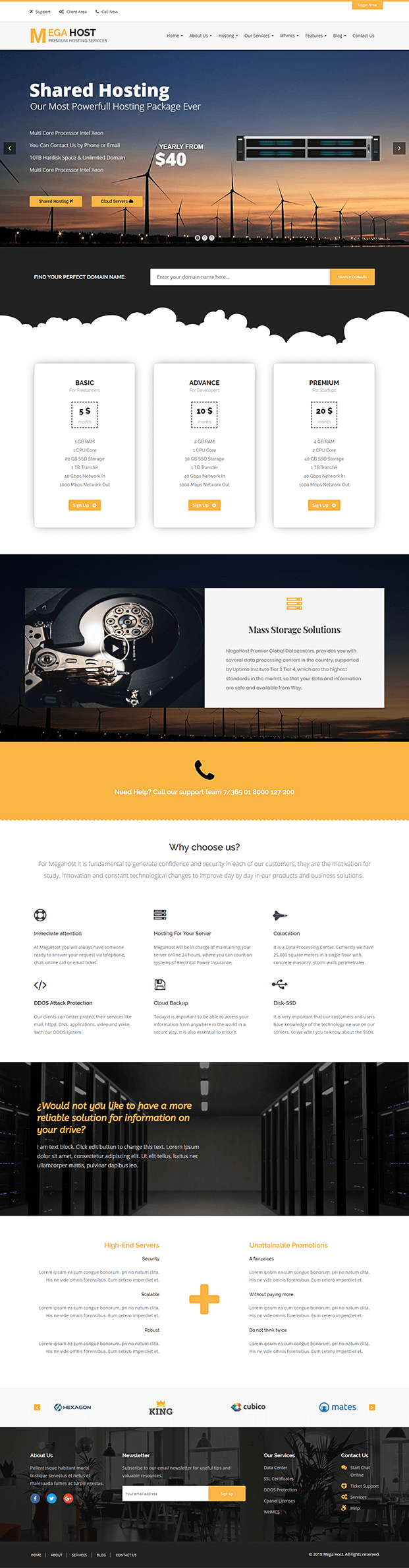 Home - WP Hosting Theme