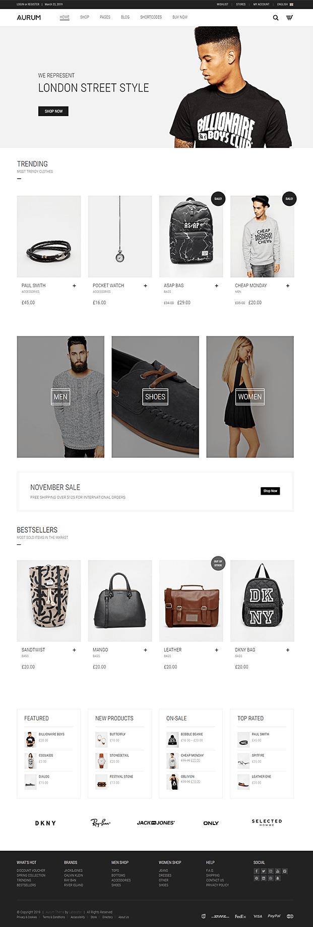 Home - Shopping WordPress Theme