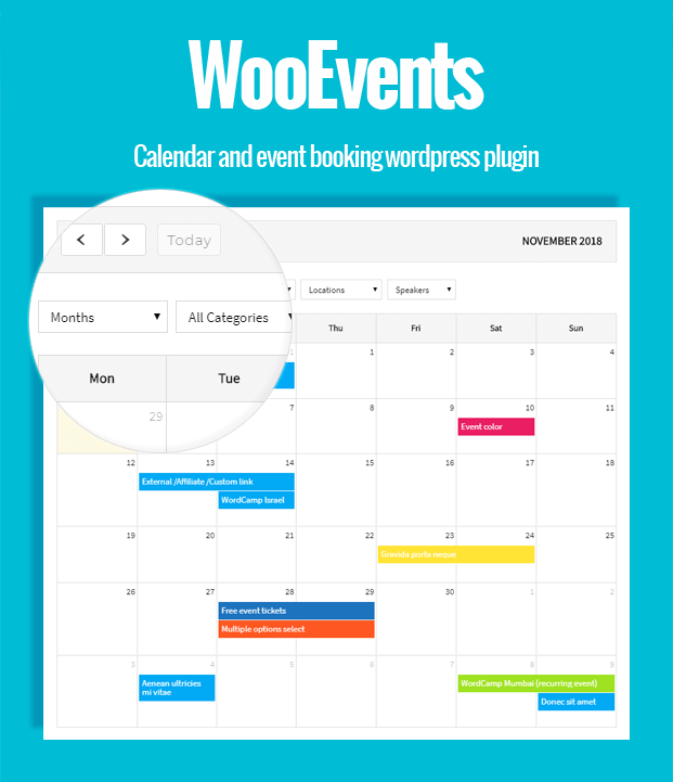 Event Calendar - WordPress Event Booking Plugin