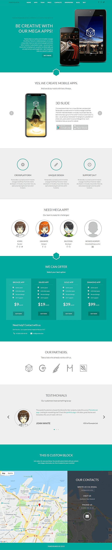 Home - WordPress Single Page Theme