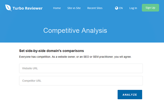 Competitive Analysis - SEO Analysis Script