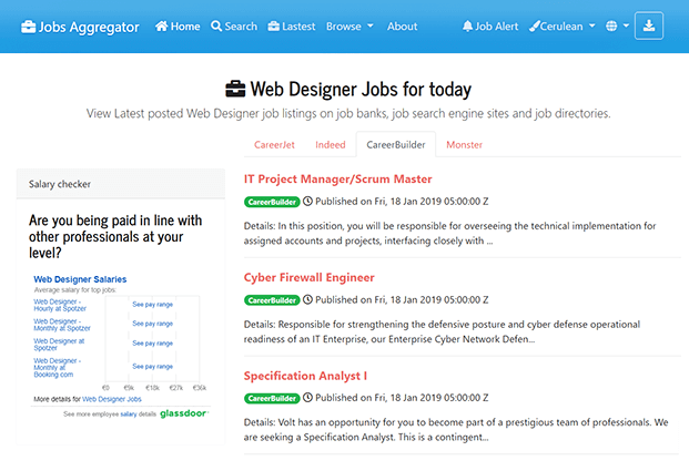 Search Result - Job Search Engine Script