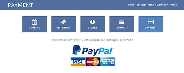Payment Gateway - Hotel Booking CMS