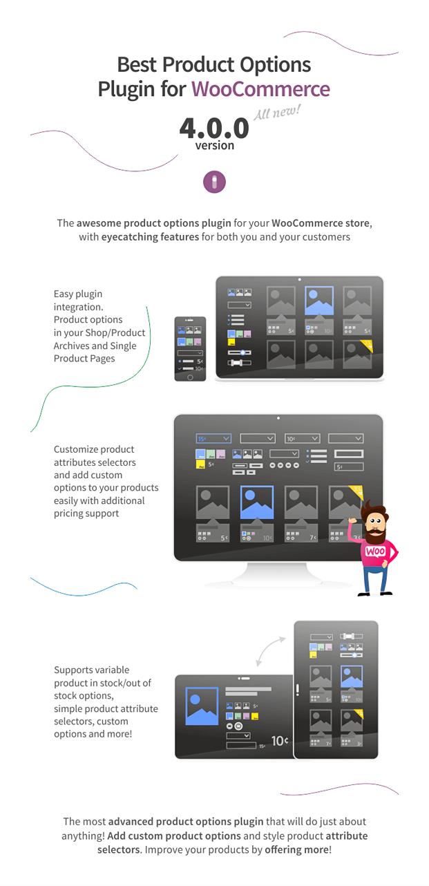 Advanced Product Options - WooCommerce WP Plugin