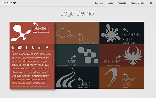 Logos- Grid WordPress Plugin