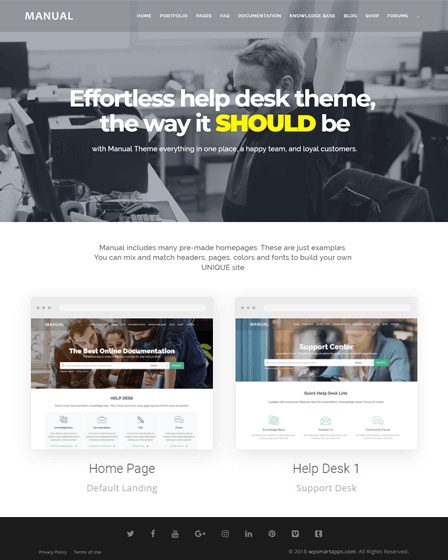 Documentation WordPress Theme