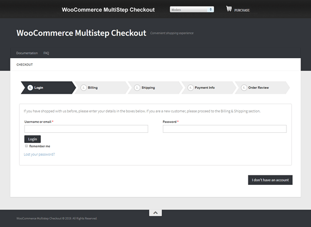 Modern Checkout - WordPress Checkout Plugin