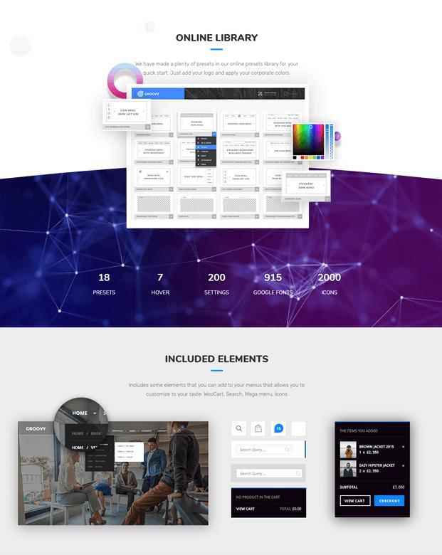 Online Library - WordPress Mega Menu Plugin