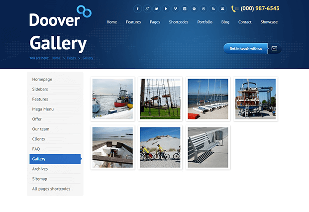 Gallery - WordPress Theme For Corporate Website