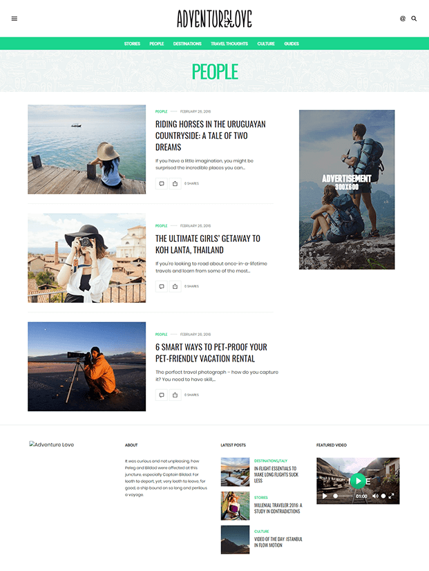 People - Best WordPress Magazine Theme
