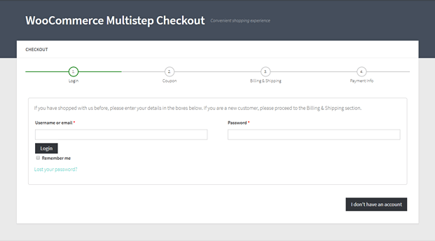 Progress Bar Checkout - WordPress Checkout Plugin