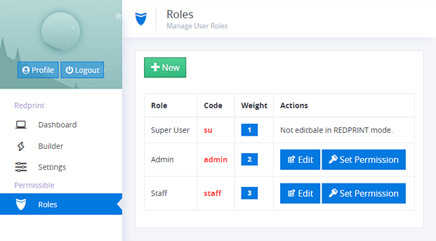 Roles - App Builder Script