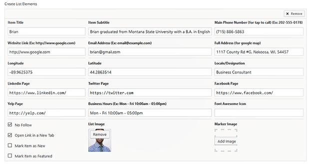 Backend Setting - WordPress Geodirectory Plugin