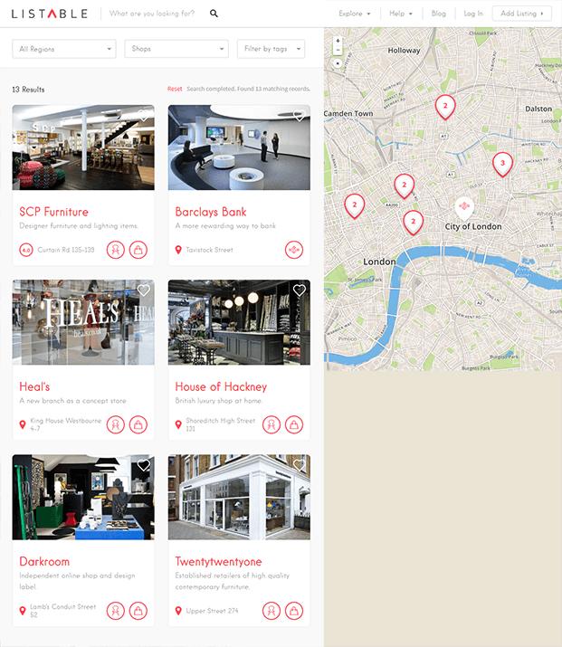 Shops - WordPress Business Directory Theme