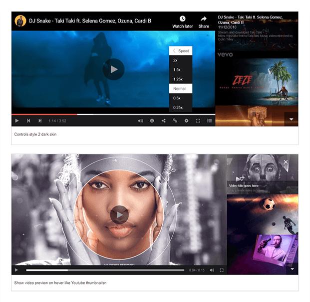 Skins - WordPress Custom Gallery Plugin