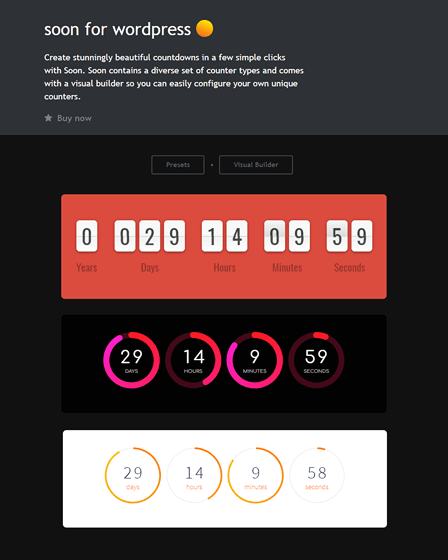 Countdown Plugin WordPress