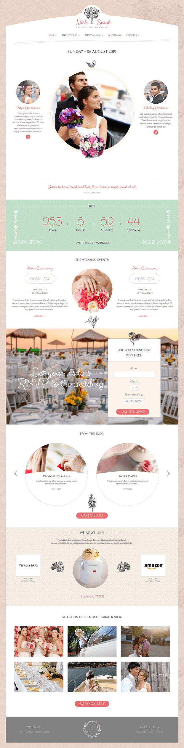Home - WP Wedding Theme