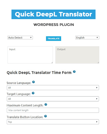 Translator WP Plugin