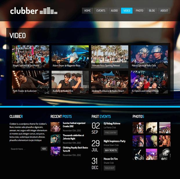 Video - WordPress Theme For Entertainment
