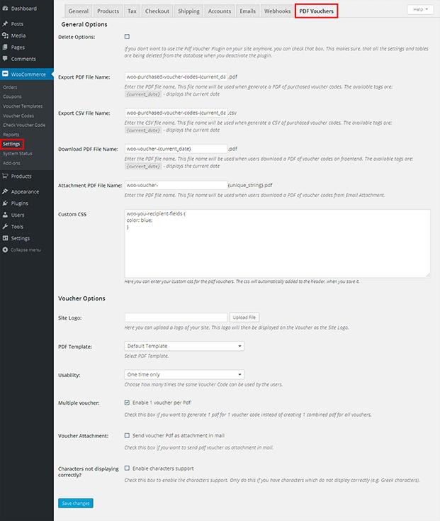 PDF Voucher - WordPress Gift Voucher Plugin