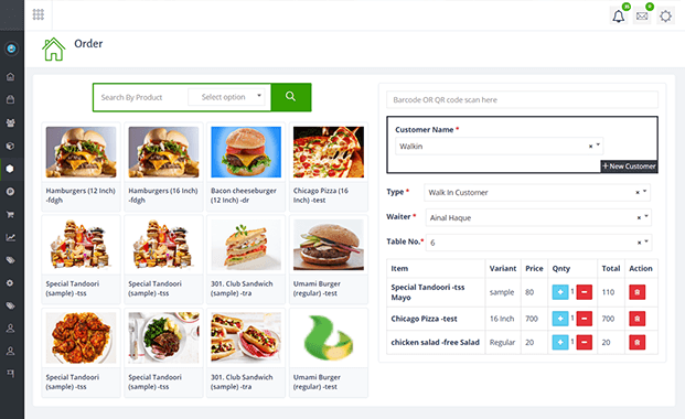 Order - Restaurant Management Software