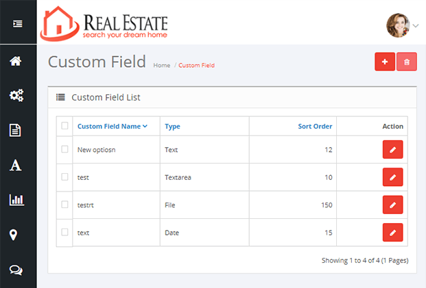 Customers - Real Estate Website PHP Script