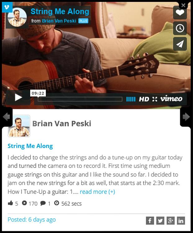 Video Support - Social Stream Plugin WordPress