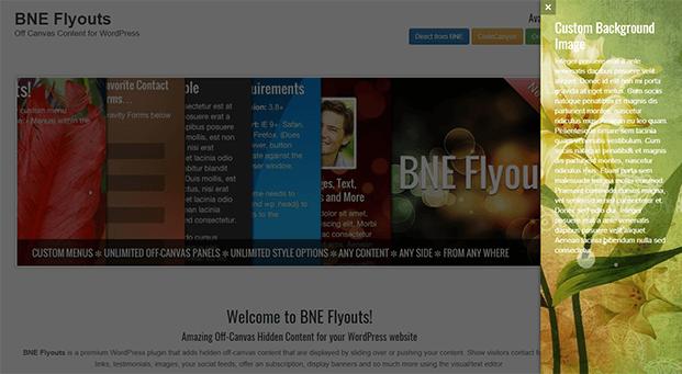 Right Sidebar - WordPress Off-Canvas Plugin