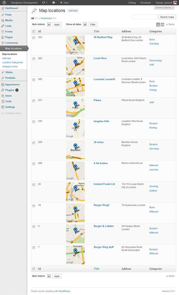 Location - Listing Geodirectory WordPress Plugin