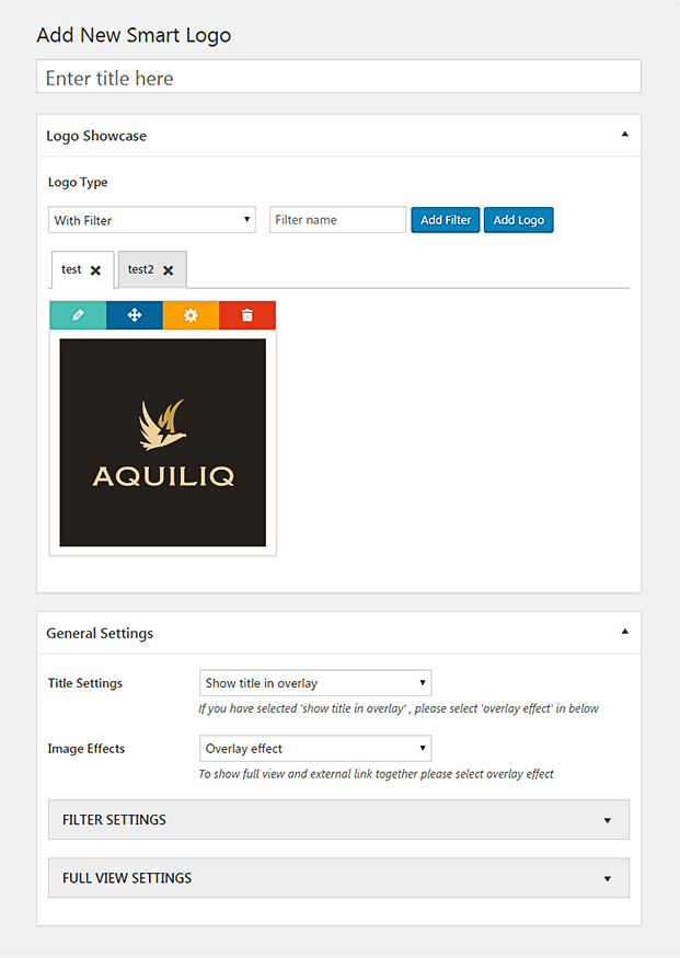 Add New Logo - WordPress Client Logo Plugin