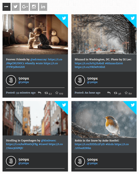 Social Stream Plugin WordPress