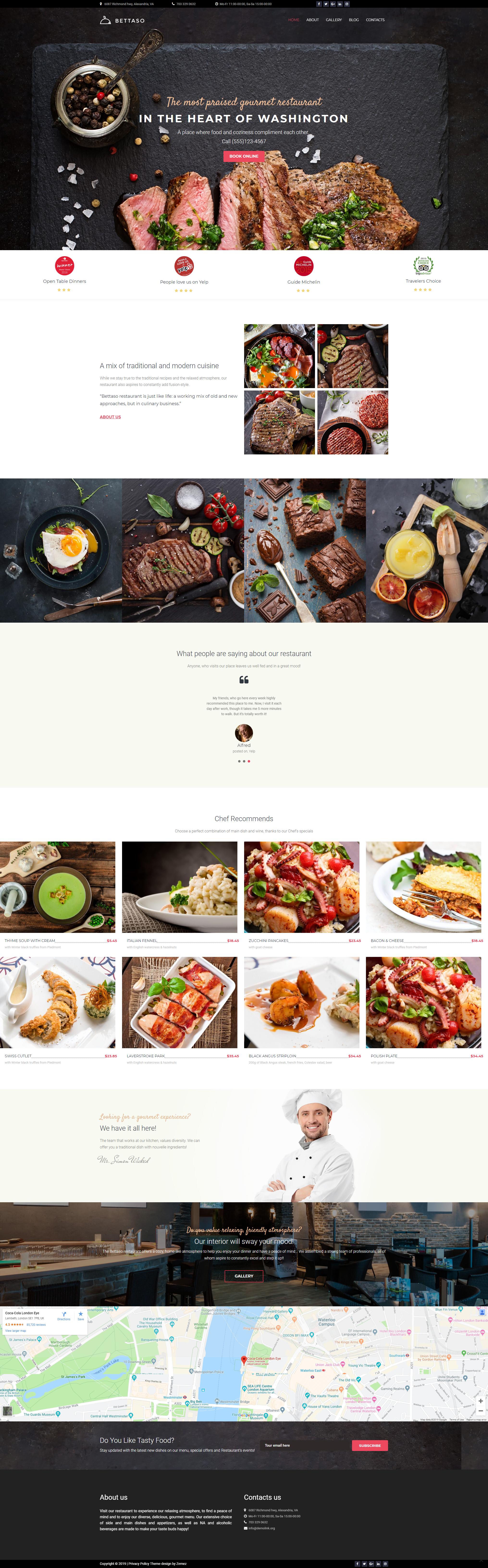 Home - Best Restaurant Theme WordPress