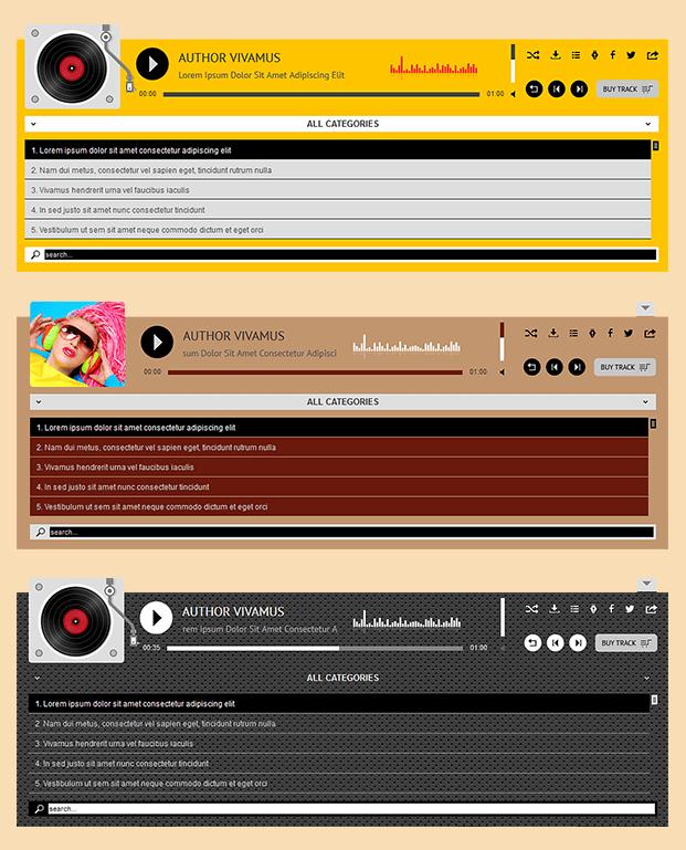 Categories - WP Audio Player Plugin