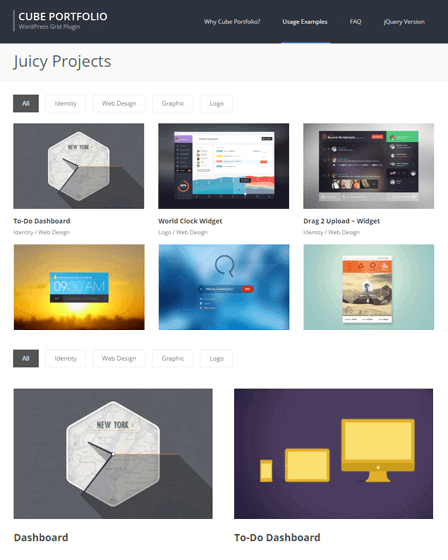 WordPress Plugin Grid Gallery