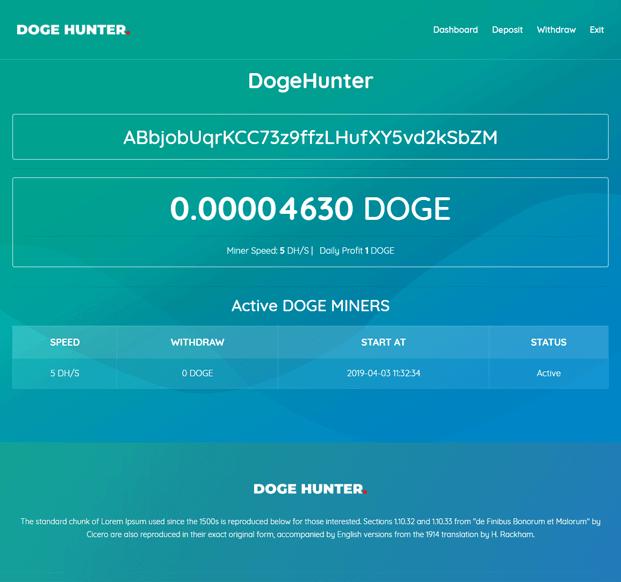 Home - Dogecoin Mining Script
