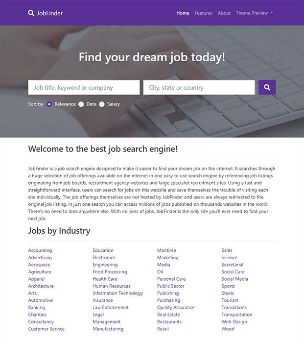 Home - Job Portal Script