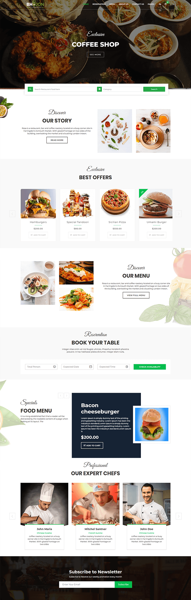 Home - Restaurant Management Software