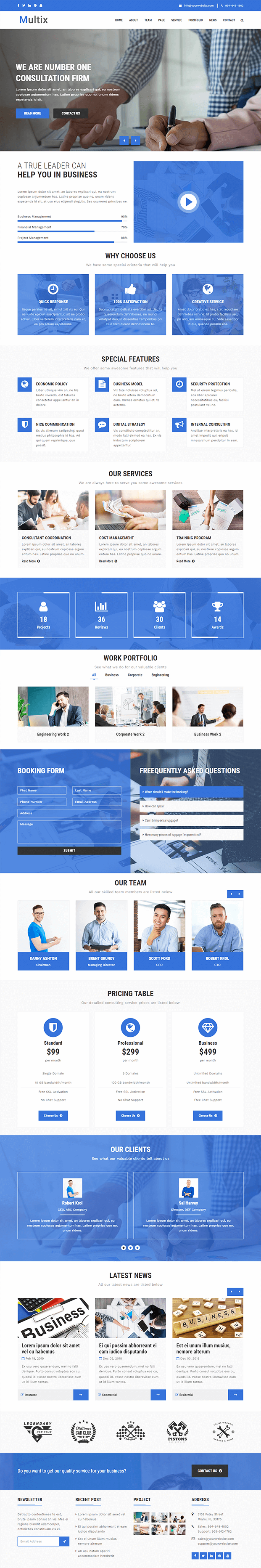 Home - PHP Website CMS